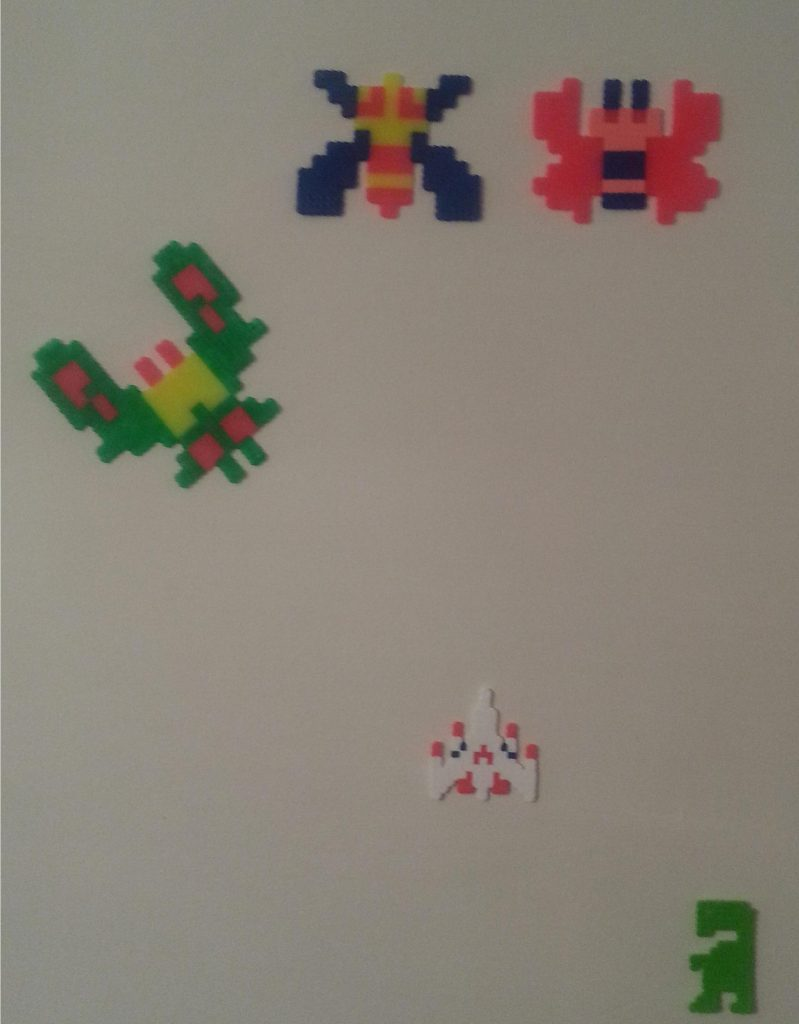 Sprites from Galaga